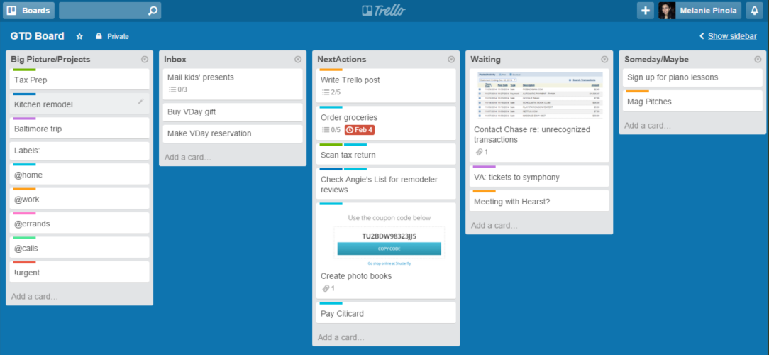 Project management automation - Trello