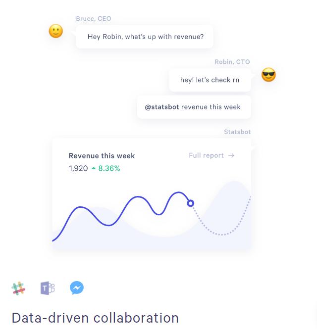 statsbot for statistics automation