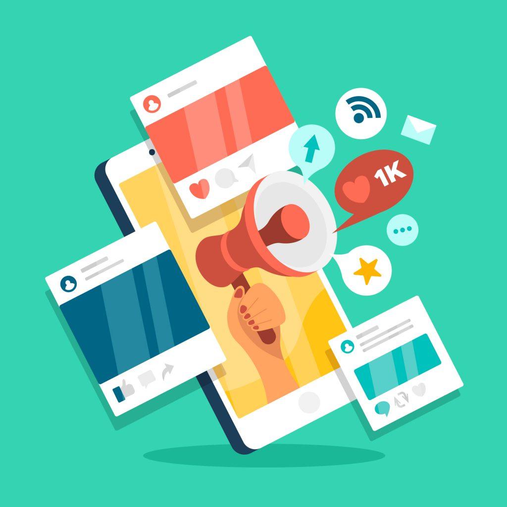 Digital Marketing Strategies - Social media marketing