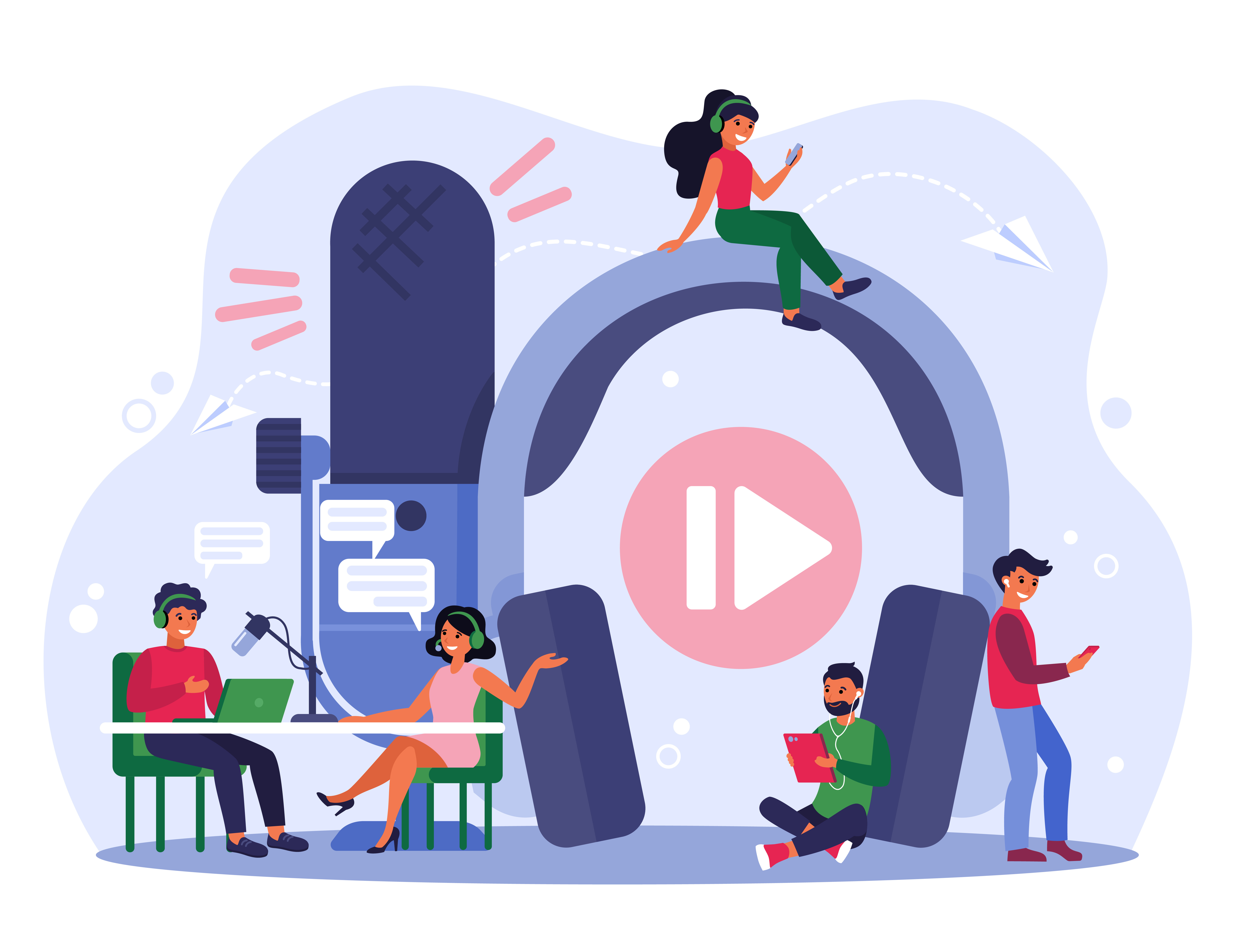 Generate More B2B Sales Leads with podcasts