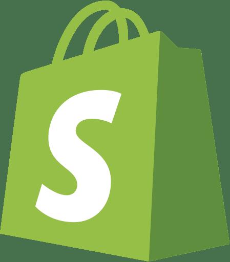 Image result for shopify logo