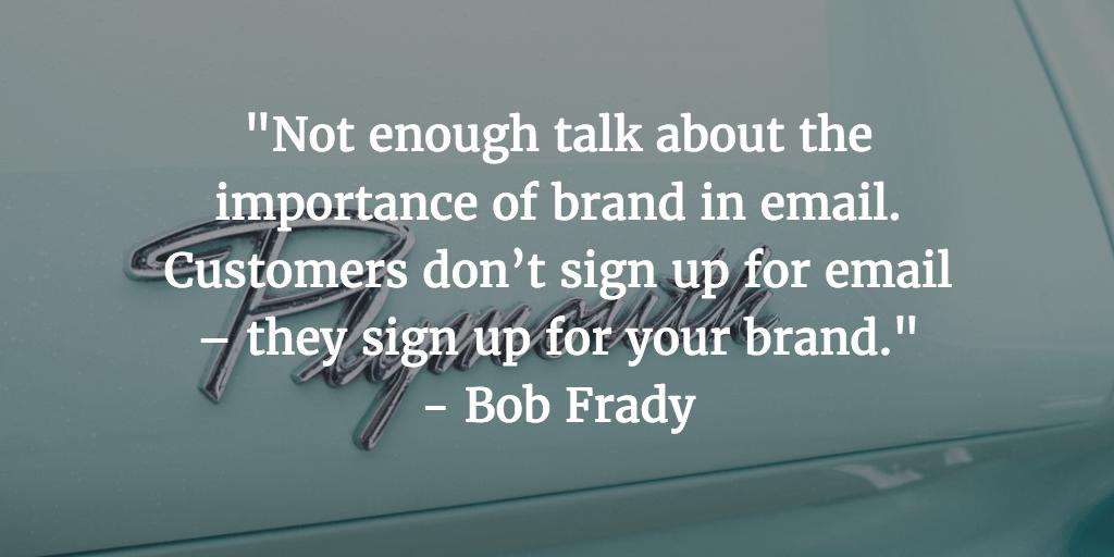 Marketing Quotes - Bob Frady