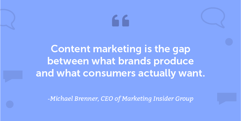Marketing Quotes - Michael Brenner
